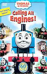 Thomas Friends   Calling All Engines DVD, 2005, DVD with toy train