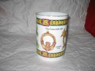 Royal Tara The Emerald Isle Irish Coffee mug Galway Ireland fine bone
