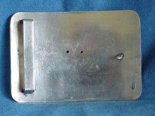 Vintage Sterling Silver 10K Gold DIAMOND TEXAS LONGHORN Steer Cowboy