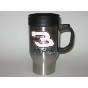 DALE EARNHARDT SR #3 16 oz. Logo Stainless Steel TRAVEL