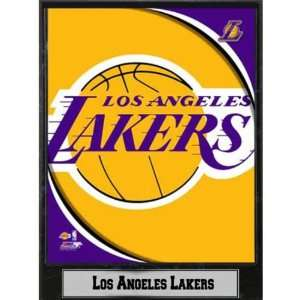 914922   NBA Plaque  2011 Los Angeles Lakers Logo Case