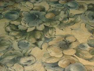 Mill Creek Heel Denim Blue Tan Cotton Print Fabric bty