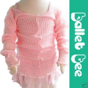 Knit Ballet tutu Dance Long Tshirts Baby Girls Boys NEW