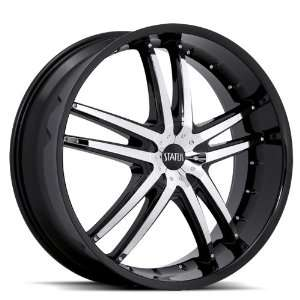 Status Fang S820 22x9 BMW 6 7 Series Chevrolet Cadillac Wheels Rims