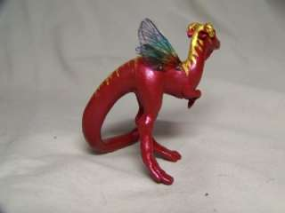 dinosaur Dragon OOAK Fairy Miniature #59 Kate Sjoberg