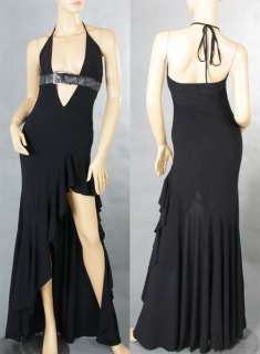 Hot Evening Party Prom Gown Halter Long Dress S XL 8548