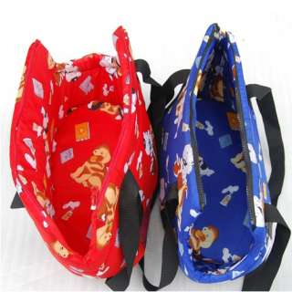 Color Warm Dog Bag Pet Carrier Dog Cat Tote Travel Carry Bag Handbag