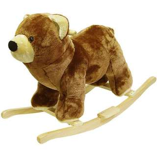 Walmar Happy rails Plush Rocking Animal, Bear Bikes & Riding