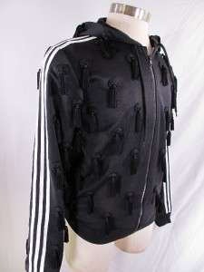 Adidas Jeremy Scott ObyO Tassel Hoody LARGE L Hooded Originals Jacket