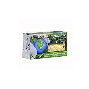 Biodegradable Natural Rubber Latex Gloves 100 per box: