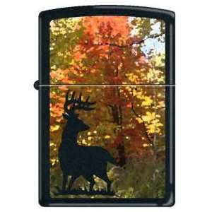 Zippo Custom Lighter   Buck Deer Autumn RARE Health