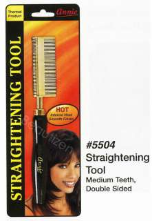 Annie Thermal Straigthening Tool Hot Comb Choose Type