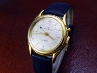 Mens REVUE THOMMEN cricket Manual Winding 18KGP/SS Gold Dial