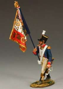 NEW King & Country French Line Inf. Flag Bearer NA230