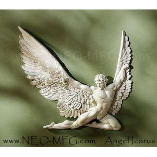 ANGEL WINGS WALL ART SCULPTURE PLAQUE HOME DECOR SET www.NEO MFG