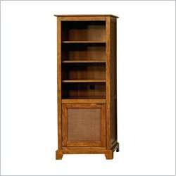 Home Styles Furniture Jamaican Bay 4 Shelf Wood Pier Cabinet Soft