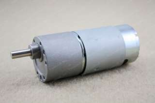 37mm 12V DC 600RPM Replacement Torque Gear Box Motor