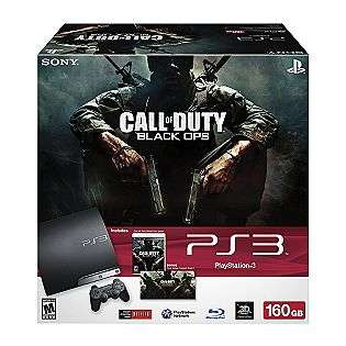Playstation® 3 Call of Duty Black Ops bundle  Sony Movies Music