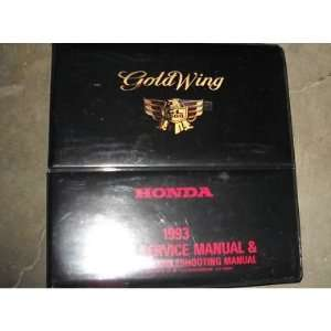 1993 Honda Gold Wing GL1500 Service Shop Manual OEM honda Books