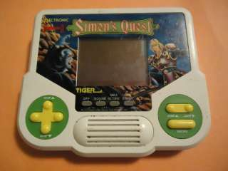 II 2 Simons Quest Tiger Electronic Handheld Arcade Game