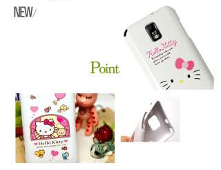 II Skyrocket 4G LTE i727 AT&T Hello Kitty Silicone Case Cover