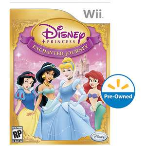 Disney Princess Enchanted Journey (Wii)   Pre Owned Games