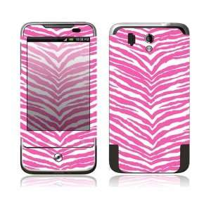 HTC Legend Decal Skin Sticker   Pink Zebra Everything