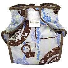 Kushies Tafetta Waterproof Infant Diaper Wrap   Boy (10 22 lbs