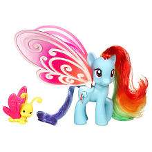 Pony Deluxe Pony   Glimmer Wings Rainbow Dash   Hasbro   Toys R Us