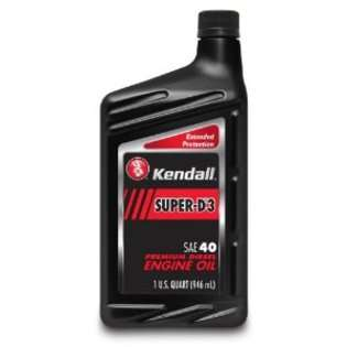 Kendall 1043392 Super D 3 SAE 40W Diesel Engine Oil   1 Quart, at