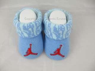 Nike Air Jordan Infant Booties 0 to 6 Months Baby Newborn Boy Girl Big