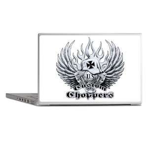 Laptop Notebook 7 Skin Cover US Custom Choppers Iron Cross Hat and
