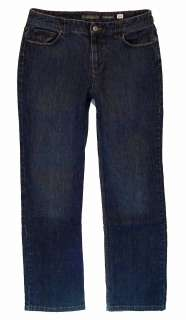 Liz Claiborne Slim Bootcut sz 10 Stretch Womens Blue Jeans Denim Pants