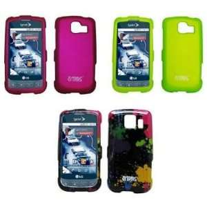 on Case Covers (Hot Pink, Neon Green, Paint Splatter) Electronics