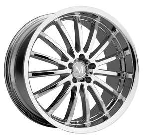 Mandrus Millenium Chrome Wheel/Rim(s) 5x112 5 112 17 8 Mercedes Benz