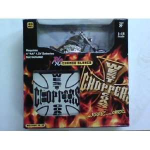 West Coast Choppers Chango Blanco R/C 118 Scale