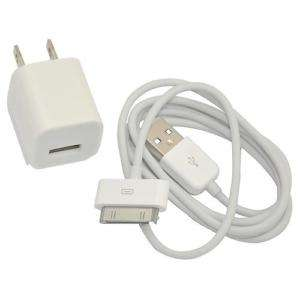 MINI USB WALL POWER ADAPTER CHARGER IPOD IPHONE 3GS / 4