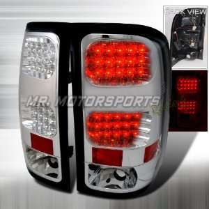 GMC SIERRA LED TAIL LIGHTS CHROME Automotive