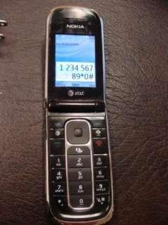 at&t Nokia 6350 Flip phone Mp3 Player Bluetooth Video Camera GPS sd