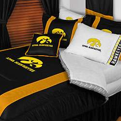 nEw NCAA IOWA HAWKEYES Full Queen Bedding COMFORTER SET