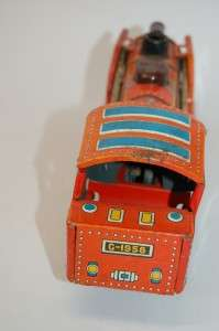 Tin Toy Vintage FRICTION Railroad train Locomotive ALPS