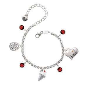 Cone with Cherry Love & Luck Charm Bracelet with Siam S Jewelry