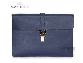 NEW KOREA Womens Oversized Envelope Purse Clutch Shoulder Bags [B1075