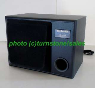 Panasonic Technics SB AS40 50W Active Subwoofer Powered Amplified Sub