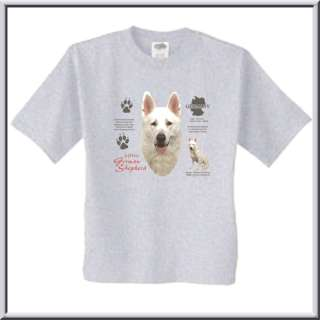 White German Shepherd Dog Origin T Shirt S,M,L,XL,2X,3X