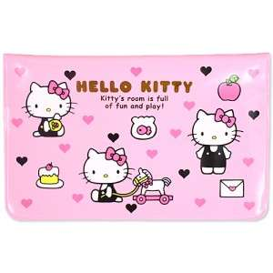 HelloKitty Checkbook Cover / Passport / Card Holder  JAPAN