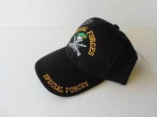 Special Forces U.S. Military Elite Unit Green Beret BlackHat