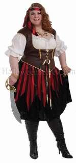 Pirate Lady 3X Plus Size Adult Costume