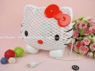 Hello Kitty Head Electric Fan Pink