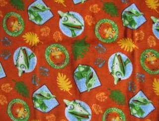 DINOSAUR TRAIN Print Orange S/S Shirt Short Pajamas Pjs sz 5T